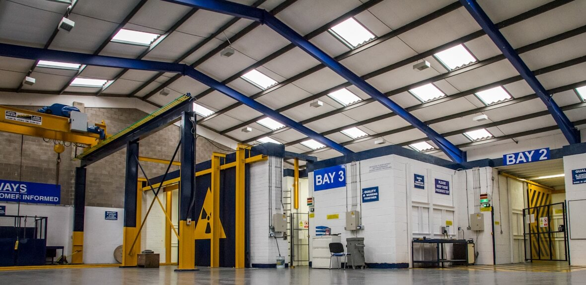 3 state of the art bays